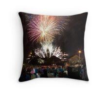Australia Day Fireworks - Freo Throw Pillow