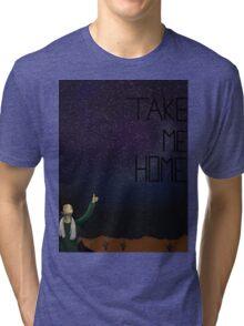 Take Me Home (hhgttg) Tri-blend T-Shirt