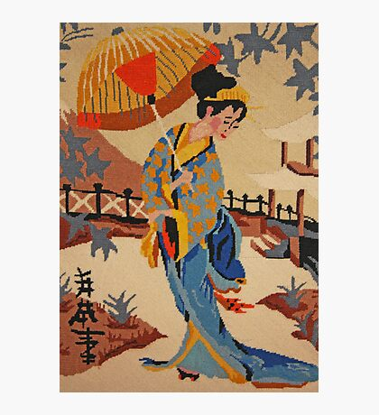 Oriental Lady in Waiting Photographic Print