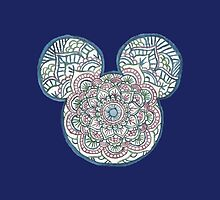 Mickey Mouse Mandala Disney by shelbmcintyre