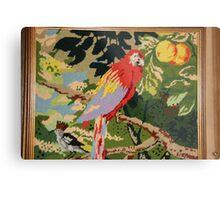 Parrot On A Branch Metal Print