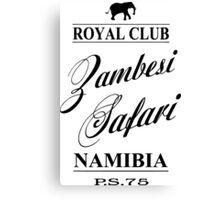 Zambesi Safari Canvas Print