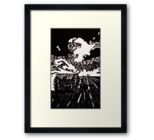 The Hay Bale Framed Print