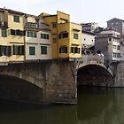 Bridge in Florence, Italy Panorama by John Carpenter