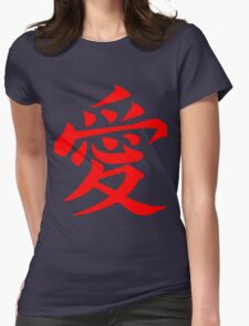 Chinese Love Symbol Red T-Shirt
