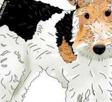 Wire Hair Fox Terrier Sticker