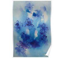Dreaming of irises Poster
