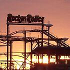 Morning on the Rockin Roller - Skegness by Stephen Willmer