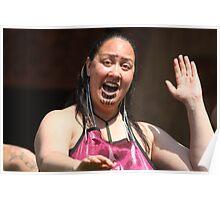 Polynesian greeting Poster