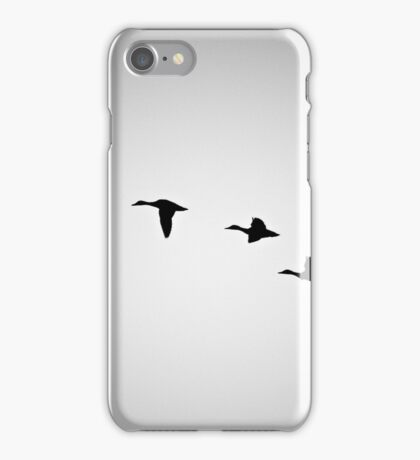 FLYING BIRDS SILHOUETTE  iPhone Case/Skin