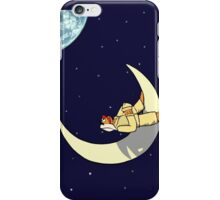 I'd Like to Visit the Moon iPhone Case/Skin
