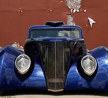 Blue Woody by dlhedberg