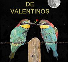 Dia Feliz De Valentinos, Be My Valentine, Bee Eaters by Eric Kempson
