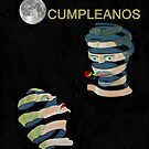 Feliz Cumpleanos, Happy Birthday, Moonlight and roses by Eric Kempson