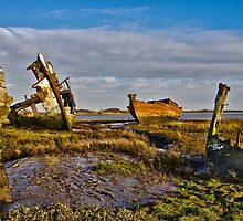 Marine Graveyard by Peter Stone