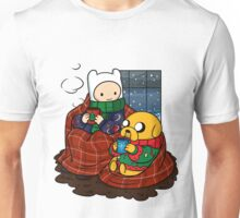 Finn and Jake Really Big Sweaters  Unisex T-Shirt