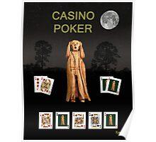 Poker Scream Casino Poker Poster