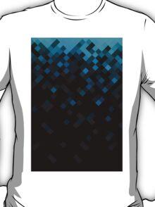 Pattern2 - black&blue T-Shirt