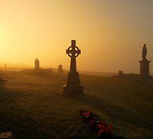 Rock of Cashel Graveyard by Robert Karreman