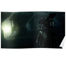 Aliens spaceship Poster
