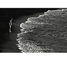 Boy At Sea Photographic Print