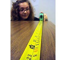 measurements Photographic Print
