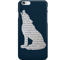 Deathly Hallows Wolf iPhone Case/Skin