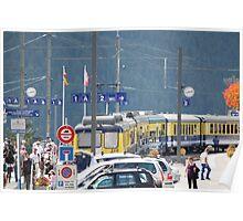 Grindelwald Station Poster