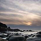 Sunset at Porth Nanven by Lin-Ann Anantharachagan