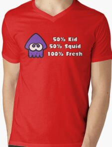 Splatoon Fresh Shirt (Purple) Mens V-Neck T-Shirt