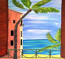 Just Open the Shutters...........Looks Like another Great Day............. by WhiteDove Studio kj gordon