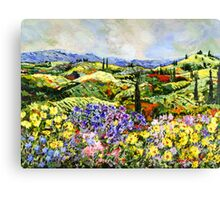 Dream Valley Canvas Print