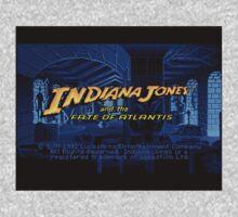 Indiana Jones and The Fate of Atlantis #02 Kids Tee