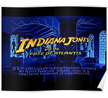Indiana Jones and The Fate of Atlantis #02 Poster