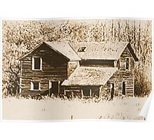 Memories Of The Old Homestead Poster