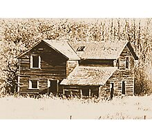 Memories Of The Old Homestead Photographic Print