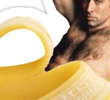 Banana Cage Sticker