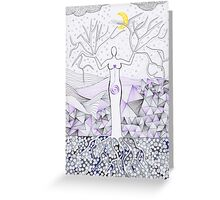 Winter - Goddess Greeting Card
