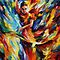 Flamenco - original oil painting on canvas by Leonid Afremov by Leonid  Afremov