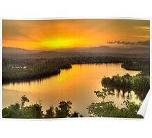 Coquette Point Sunset - Nth Qld Poster