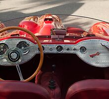 1962 Devin-MGA Supercharged Roadster  by Jill Reger
