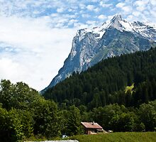 The Wetterhorn by mjdennison