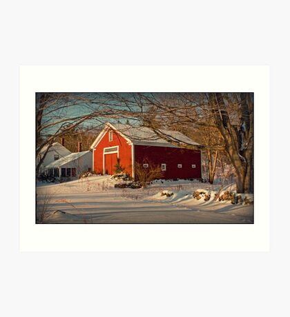 Fellows Farm #2 Art Print