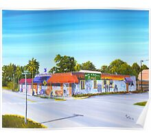 Planet Follywood, Folly Beach, SC Poster