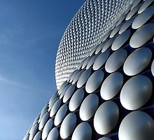 Futuristic Modern Curved Exterior of Selfridge's Building in Birmingham by HotHibiscus