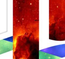 Galaxy Playstation Logo Sticker