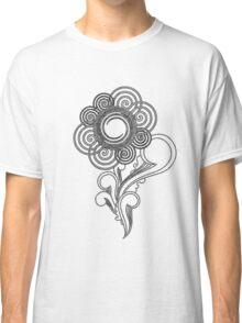 Flower Sketching Classic T-Shirt