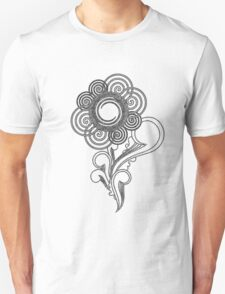 Flower Sketching Unisex T-Shirt