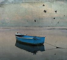 The blue boat - Fine Art Photography by creativo