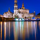 Hofkirche - Dresden, Germany by Yen Baet